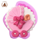 2018 High quality new Baby car fondant cake decoration silicone mould for cake decorating