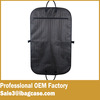 Fabric Garment Bag Suit Cover Protector Army Green Stripes Storage
