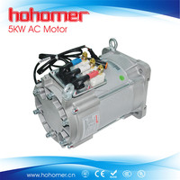 5KW 48V 72vV 96V AC motor electric car conversation kits for golf cart