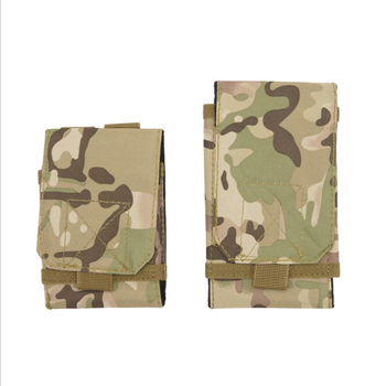 Outdoor sports multi-purpose tactical bag Army fan camouflage mobile phone bag Oxford cloth sports pocket