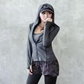 Women Sport Zipper Jackets Running Hoodie sweater Coat Quick dry Long sleeved Sweatshirt Fitness Outerwear Breathable