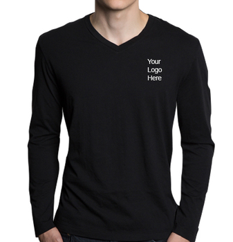 0f222f98f5d Casual Tops Slim Fit V Neck Men s Long Sleeve T Shirt - Buy Leather ...