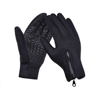 High quality winter warm Anti-Slip touch screen full finger neoprene cycling gloves