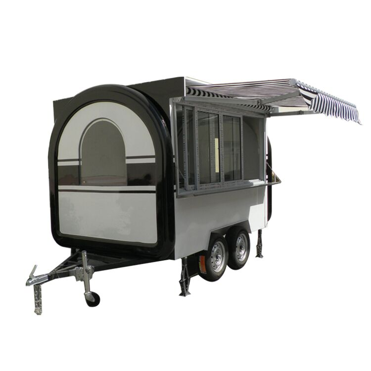 2017 hot food vending beer food trailer carts car