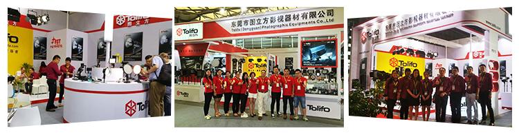 Dongguan Tolifo DMX512 สองสีไร้สายนำวิดีโอแผงเติมแสงสำหรับบันทึกวิดีโอ