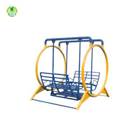 Attractive galvanized steel swing chair for garden (QX-100A) outdoor garden chair garden swing chairs for kids