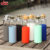 550ml Portable Bamboo Lid Borosilicate Glass Water Bottle With Silicone Sleeve