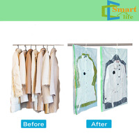 Ziploc Vacuum Clothes Storage Bags Hanging Style With Hanger For Clothes