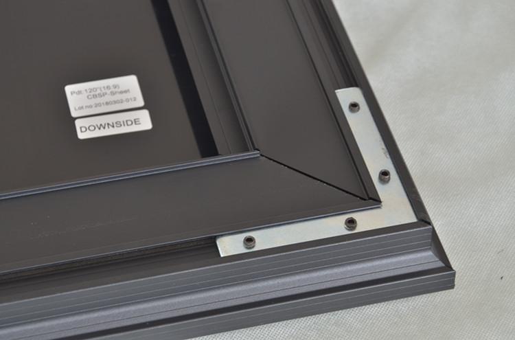 XYSCREENS ZHK100B Serie Curva Stretta Cornice Dello Schermo di Proiezione per il Proiettore Home Cinema