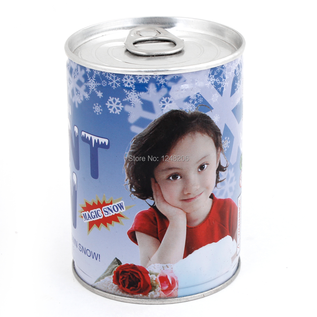 Watering Powder Instant Magic Blizzard Fake Snow Metal Can Holiday Decro Discount 50 Holidy