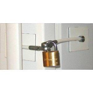 R frig rateur de verrouillage de porte avec cadenas 2 - Comment ouvrir une porte de voiture sans clef ...