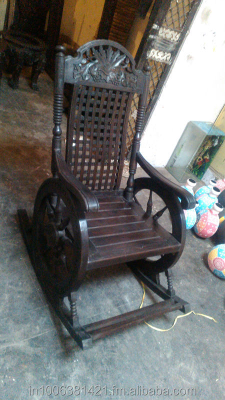 Wooden Hand Carved Rocking Chair, Wooden Hand Carved Rocking Chair  Suppliers And Manufacturers At Alibaba.com