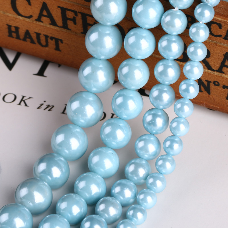 Wholesale Natural Pearl Shell Beads for Jewelry Making