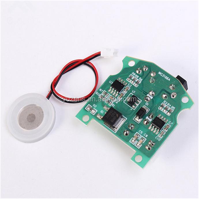 113KHz D20mm Ultraschall Nebel Hersteller Atomizing Nebel Keramik mit Pcb