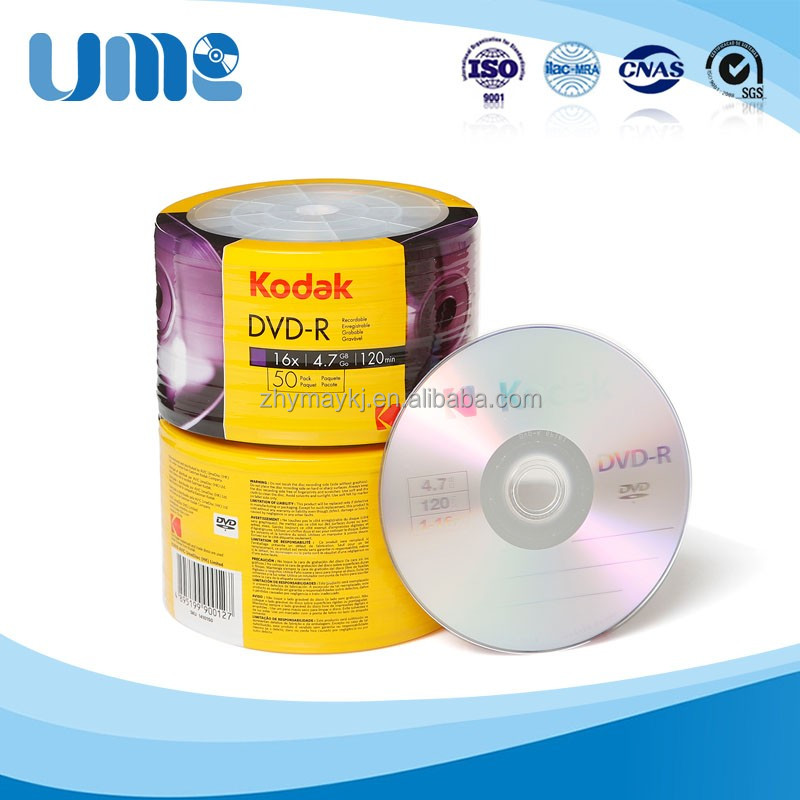 Kodak Brand Blank DVD-R 4.7GB Source Original Record Movies to DVD