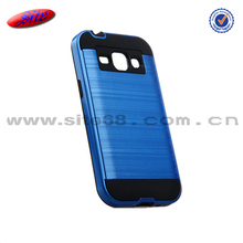 Brushed armor matel mobile phone cover For samsung J1 phone case manufacturing,Fancy design free sample phone case for samsung