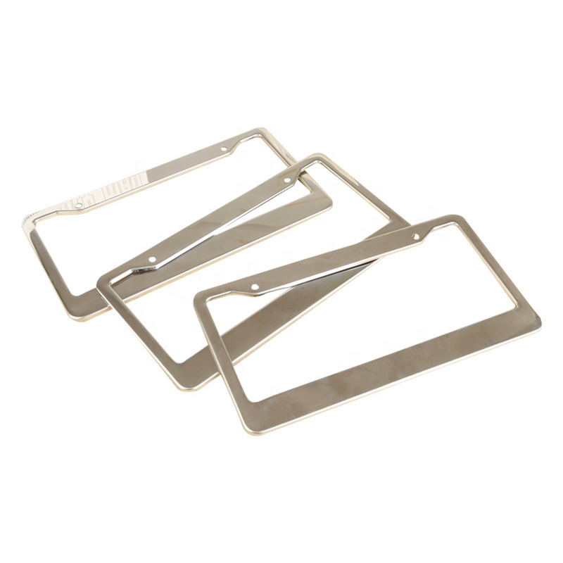 OEM Customized Color Anodized Aluminum alloy Frame for License Plate