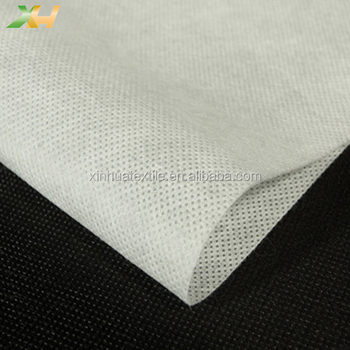 White or Black PP Polypropylene Spunbond Nonwoven Non-woven Non woven Interlining for Shoes