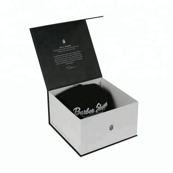 Custom Black Paper Box Packaging Gift New Era Hat Case - Buy New ... 0216e3eef82