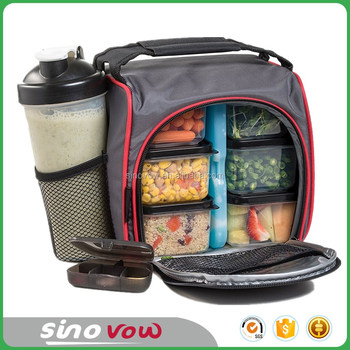 Meal Lunch Bag Insulated Cooler Thermal Tote