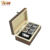 6pcs gift set stainless steel rock whiskey stone ice cube