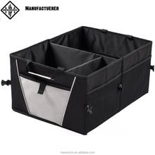 Premium Trunk Organizer - Sturdy Construction and Collapsible Design - Great Backseat Storage for Car Truck or SUV, Perfect Car