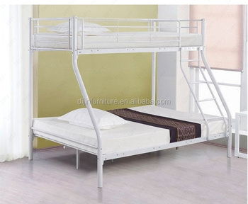 Modern Children Kids Frame Metal 3 Sleeper New Black Triple Bunk Bed