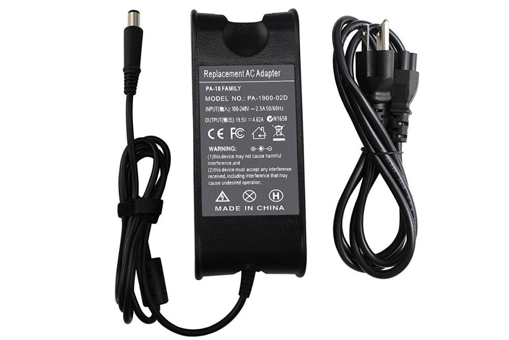 19 5v 4 62a 90w Ac Adapter For Dell Inspiron 14 15 17 N4010 N5010 N7010  9t215 Df266 Xd757pa-1900-04 Pa-1900-02d Nadp-90kb - Buy 19 5v 4 62a Ac  Adapter
