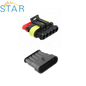 282090-1 AMP 6 pin automotive connector male female waterproof wire harness connector
