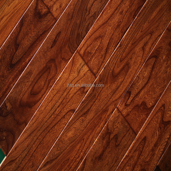 Smooth engineered elm solid wood flooring cheap prices for Cheap solid wood flooring