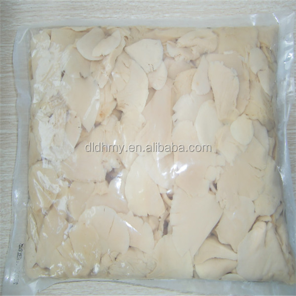 boiled white oyster mushroom sliced oyster mushrooms in salted1kg bag vacuum packed oyster mushroom