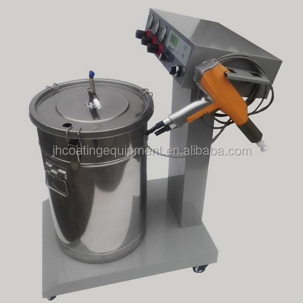 JH-601 Digital Display Electrostatic Powder Coating Machine For Surface Using