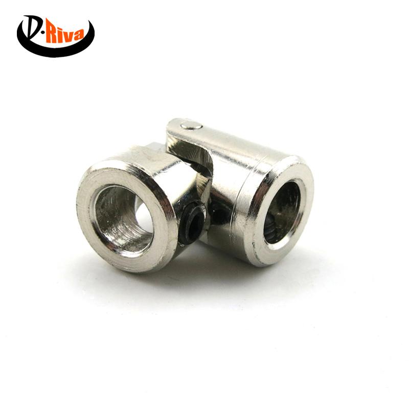 Brass model car Shaft Coupling Motor connector  3mm-3mm Universal Joint,Screws