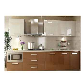 Easy Fitted Acrylic Kitchen Cabinet Designs For Small Kitchens