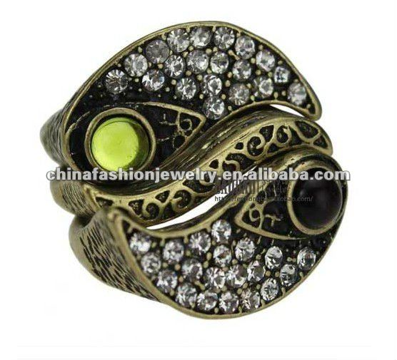 Wholesale Three Layer Tai Chi Gold Ring