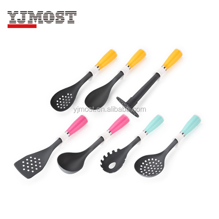 Nylon kitchen tools with pp handle Kitchen cooking utensils