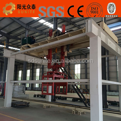 Fly Ash AAC Block Making Machine / Autoclave Aerated Concrete Block Cutting Equipment