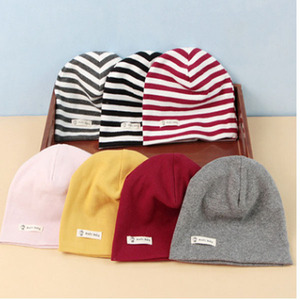 3711 new soft warm cotton organic baby beanie hats spring newborn infant baby caps and hat bonnet