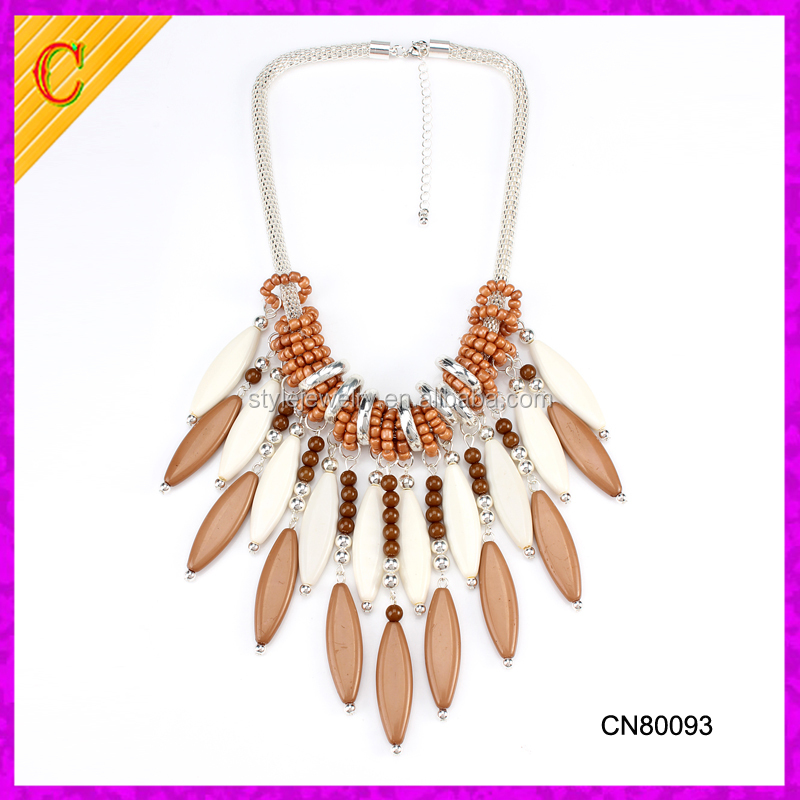 CN80093 Fashion jewelry women accessories full neck covering necklace design
