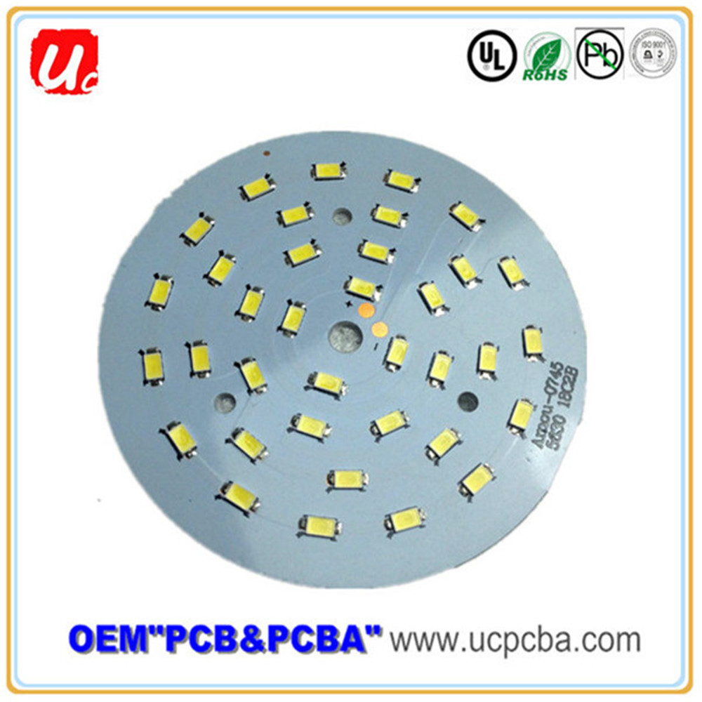 Most Professional Large Capacity Via HASL LED Circuit With Cheap Price