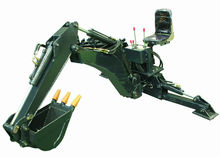 backhoe of skid loader attachments