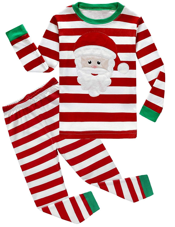 Dolphin&Fish Girls Boys Christmas Pajamas Little Kids 100% Cotton Sleepwear Toddler PJS