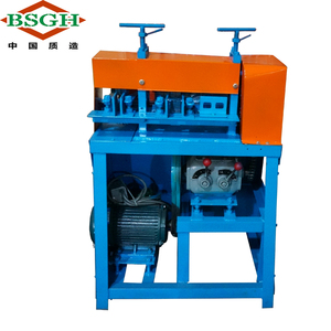 Appreciated in all the India 2-90mm Scrap Wire Stripper And Cutter Machine Electric Type Armoured Cable Recycling Machinery