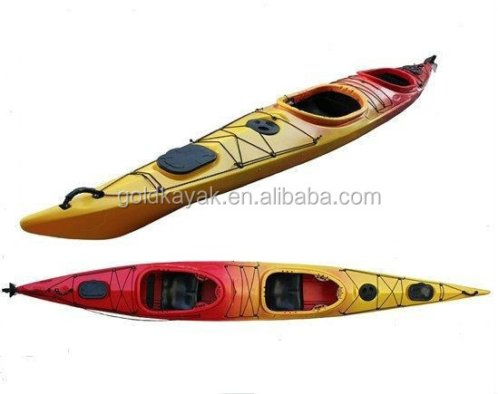 double sea kayak with footrest with steering system