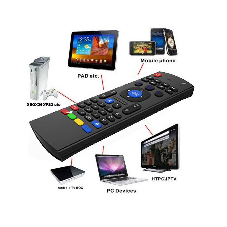 Rii Mini I8, Universal Remote Control With Air Mouse, Mini Wireless Keyboard For Sharp Smart Tv