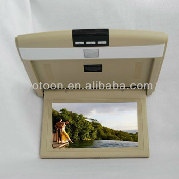 10.2 inch car monitor Flip Down Car LCD Monitor