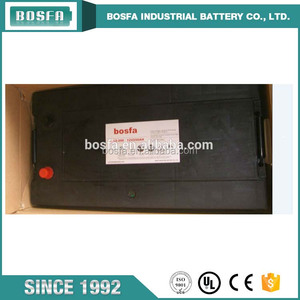 high quality black maintenance free sealed lead acid battery 12V 200AH car battery
