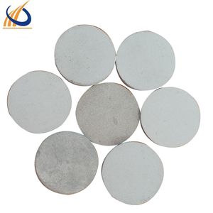 professional manufacturer offering titanium powder sintered porous metal round filter for Acid and alkali filtration for sale
