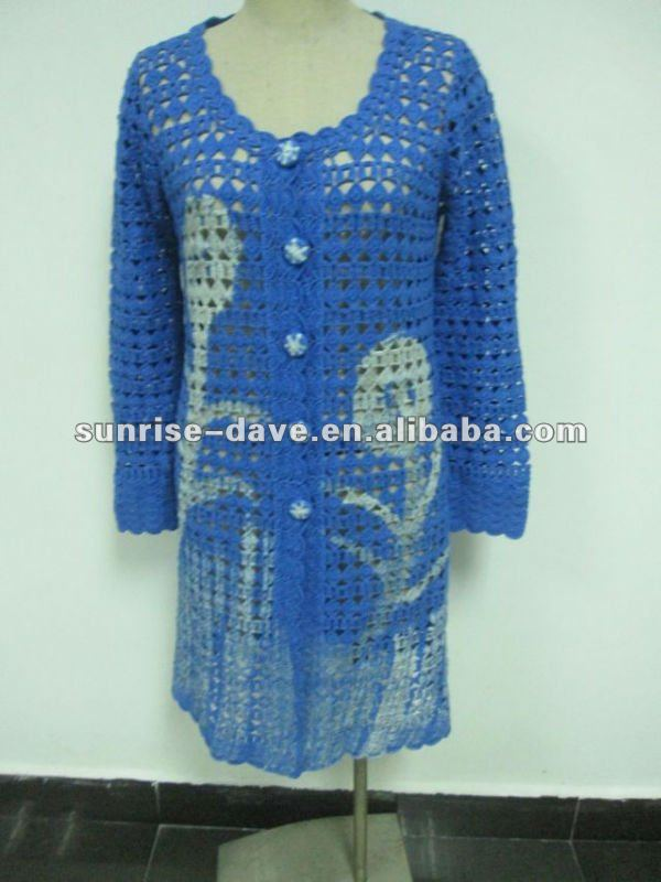 Bordado Crochet Cardigan Capa Del Suéter Para Las Señoras - Buy ... 4a21ef521a7c