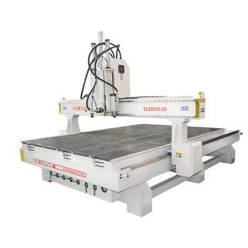 Blue Elephant 4 Axis Cnc Router 2030 3d Sculpture Machine Price India